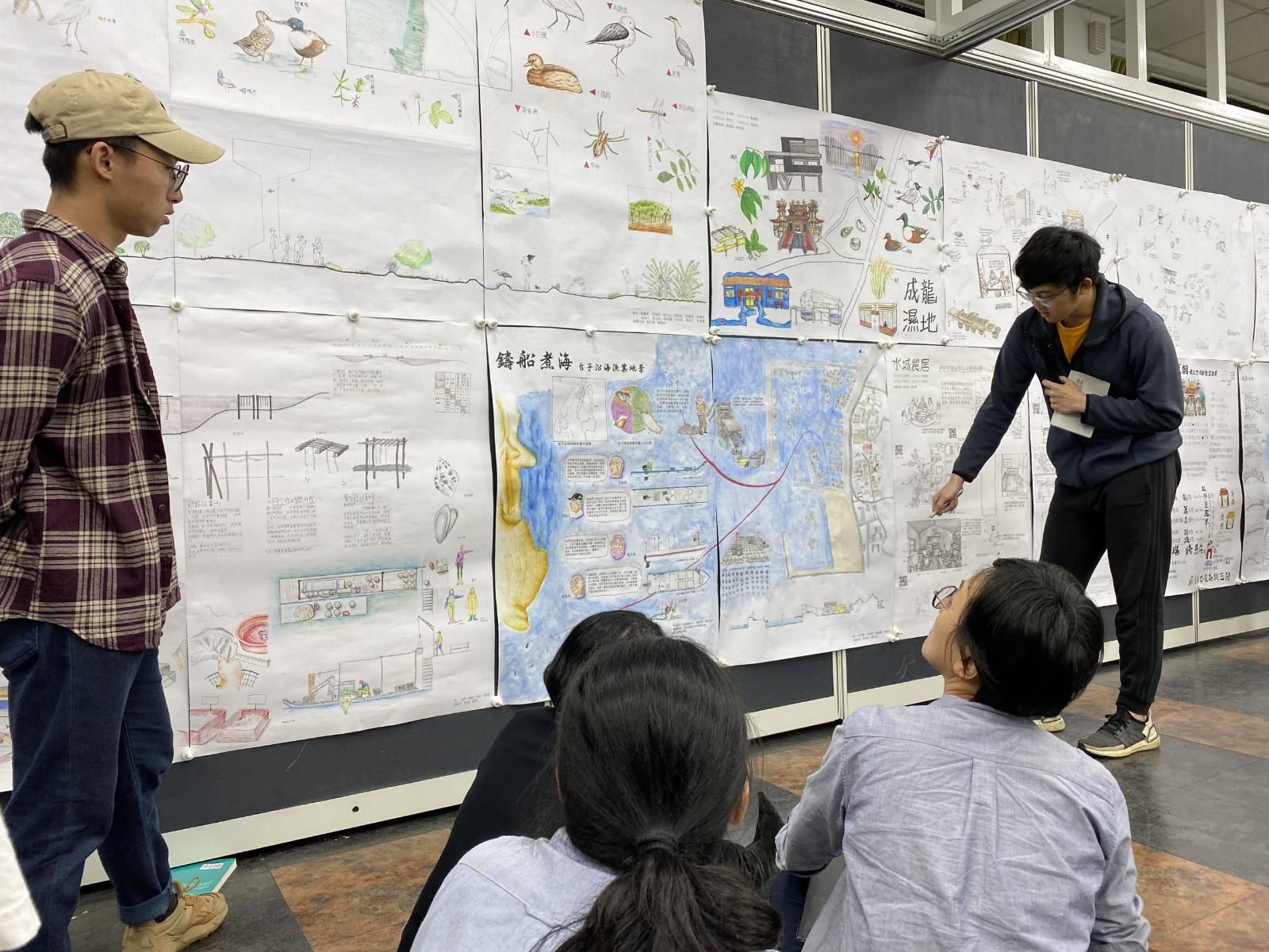 中原大學景觀系學生下鄉觀察到地方豐富的生態與特色,對設計思維之啟發大有助益。.jpg