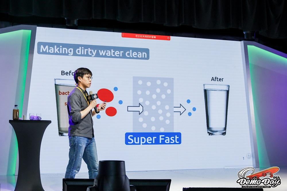鈄過膜鏡材料研發的濾心可七秒瞬間淨化水質