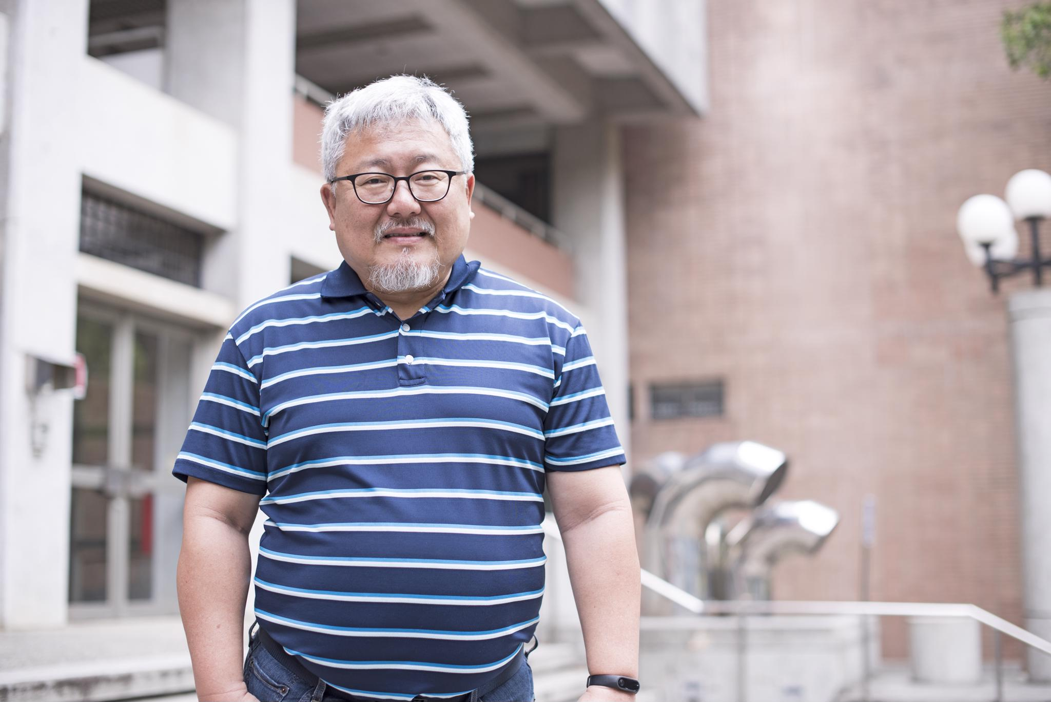 106教學特優教師專題報導─應數系鄭子韋:做有興趣的事,才會有成就!