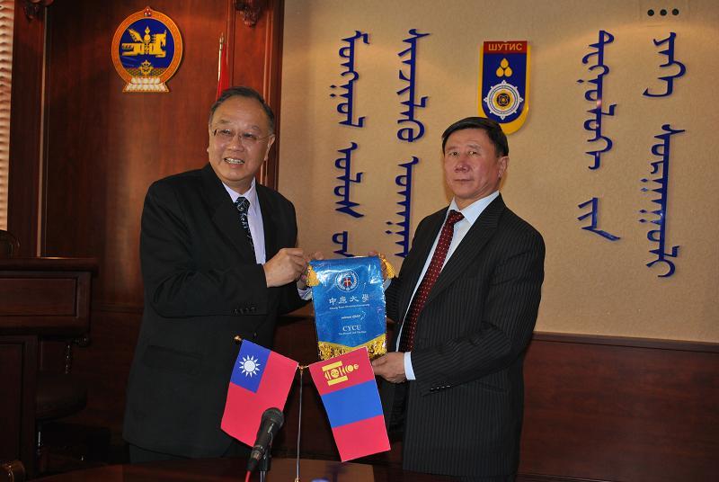 中原與蒙古科技大學簽約 共推學術交流及產學合作