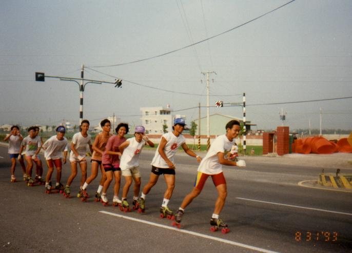 睽違15年 中原大學溜冰社再度挑戰溜冰環島