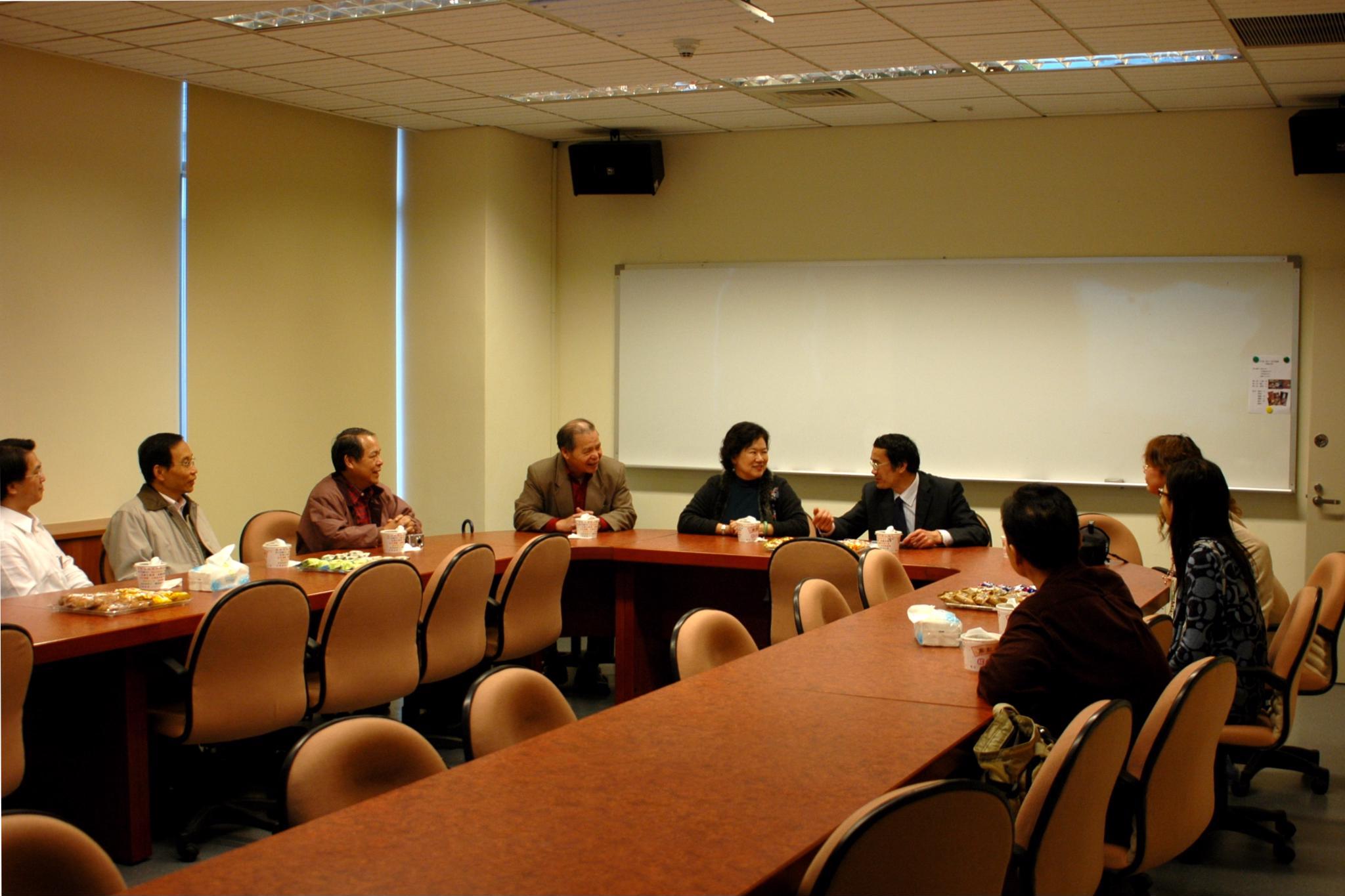華中師範大學副校長來訪 促進兩岸學術交流