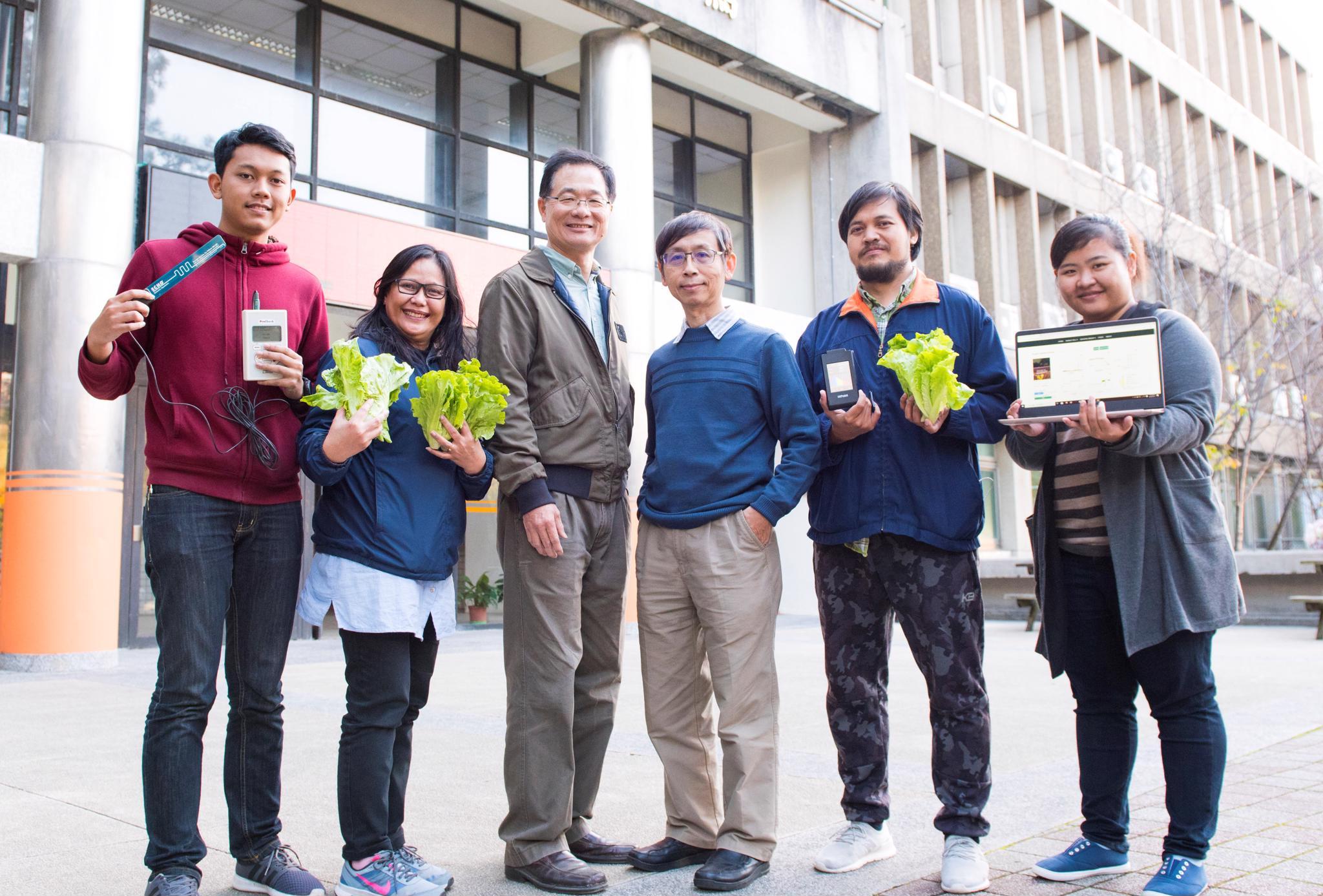 中原大學跨領域智慧物聯網團隊 與農民共創美好未來