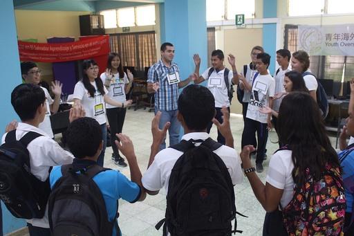中原大學志工以活力熱情與創意在薩國推動國民外交