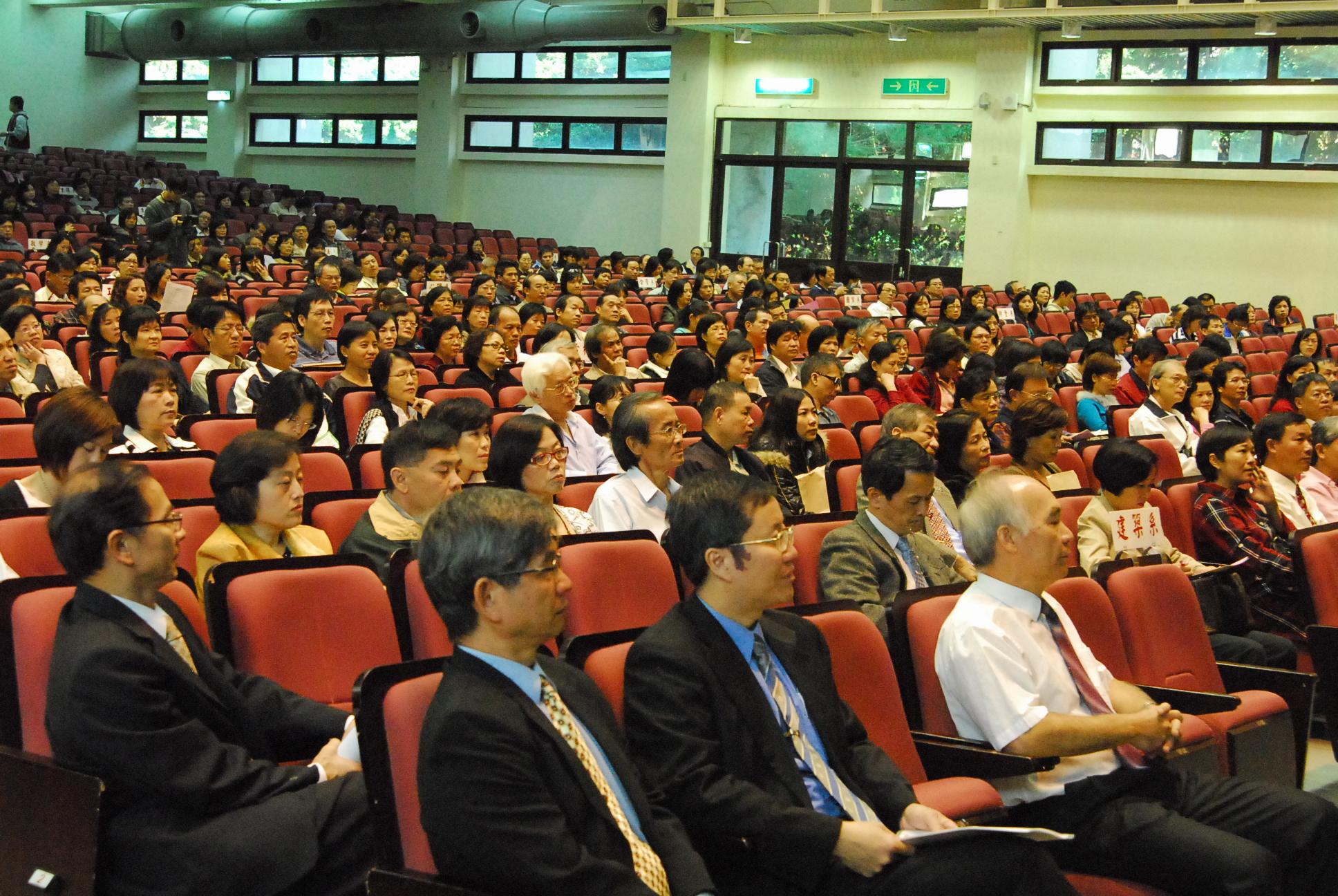 中原大學舉辦新生親師座談會 近七百位家長出席參與