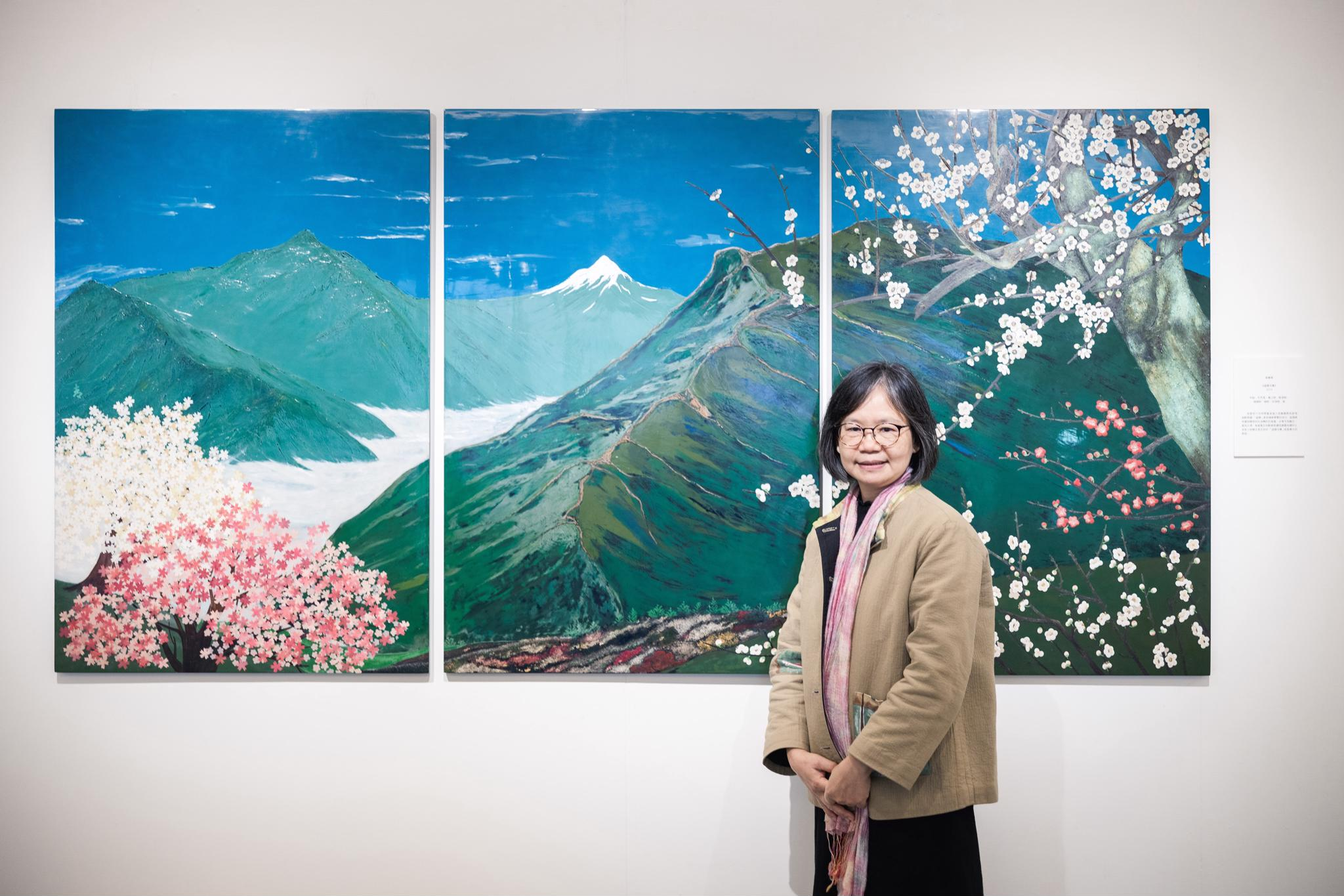 在中原大學看見漆藝之美!藝術家張賽青以漆創作記錄生活