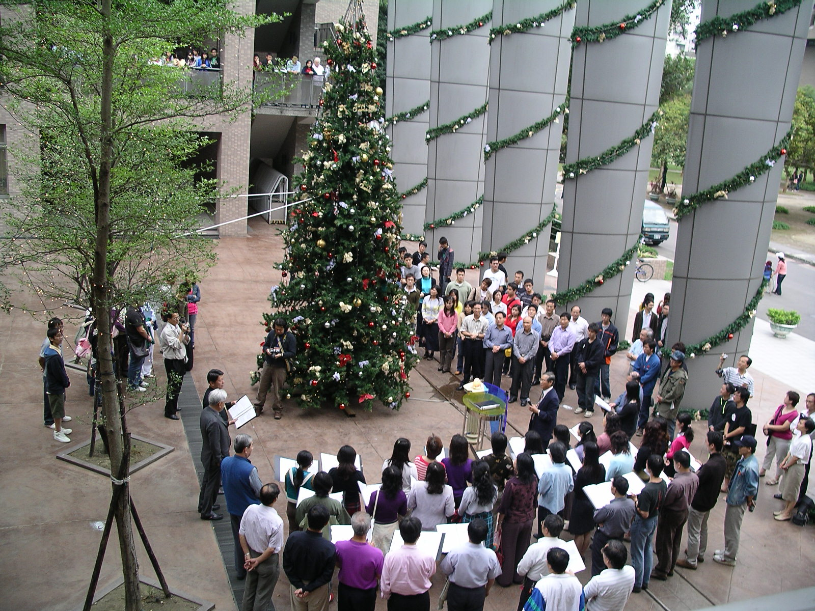 中原大學聖誕點燈 啟動溫馨聖誕節系列活動