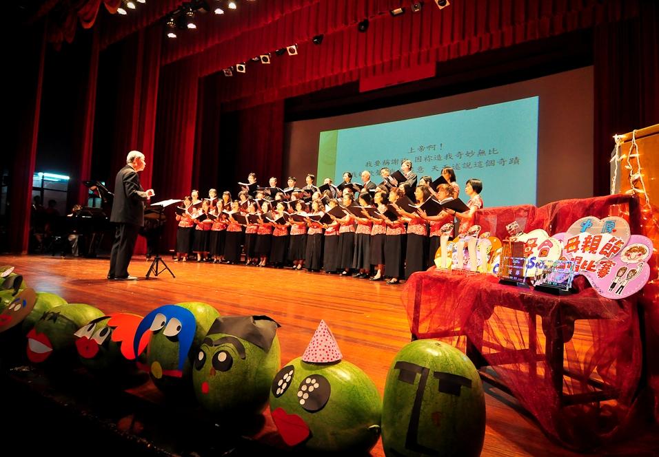 母親節合唱比賽 走過半世紀 第51屆溫馨登場