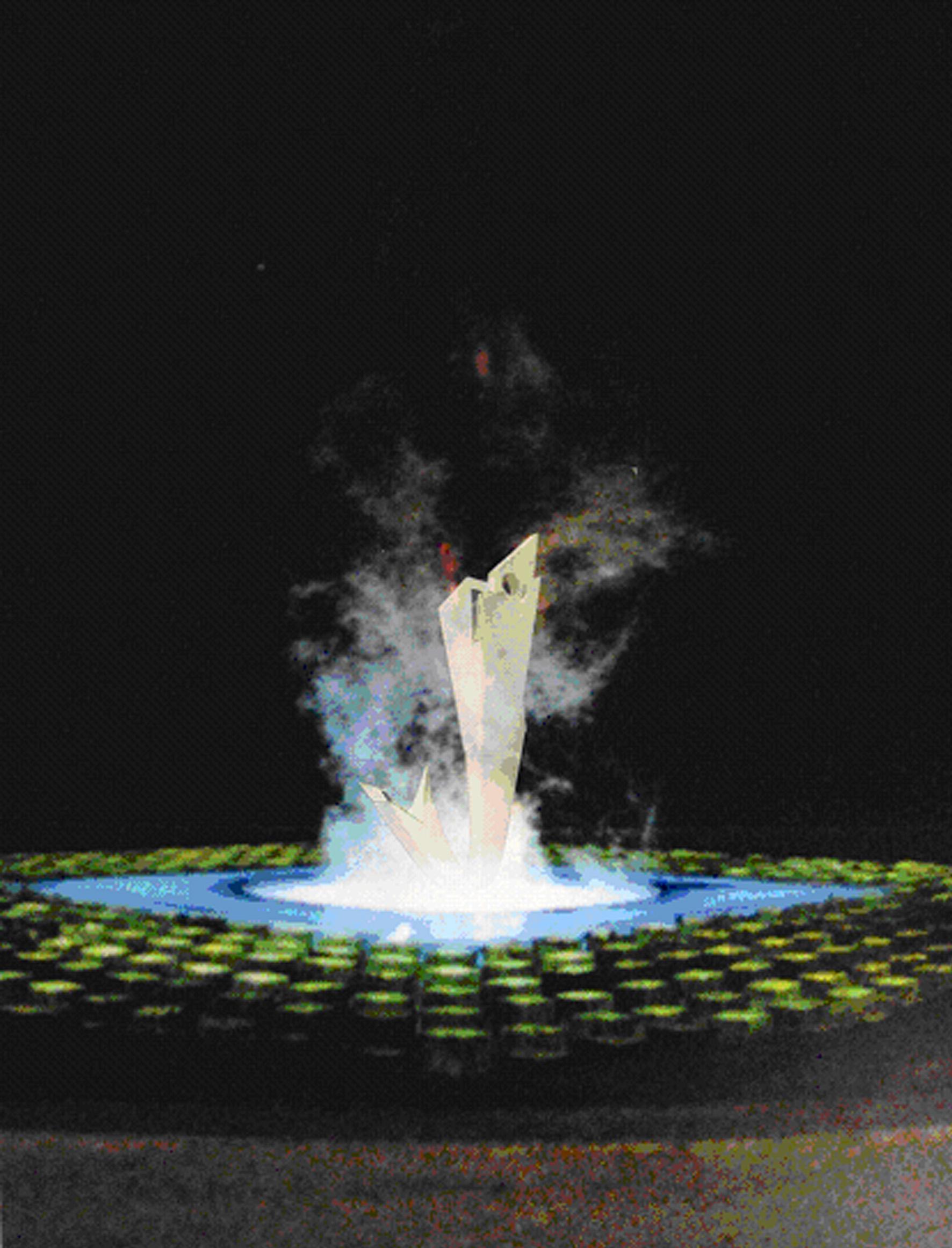 商設學生黃沿禎 - 獲「魚類雕塑景觀工程設計競賽」首獎