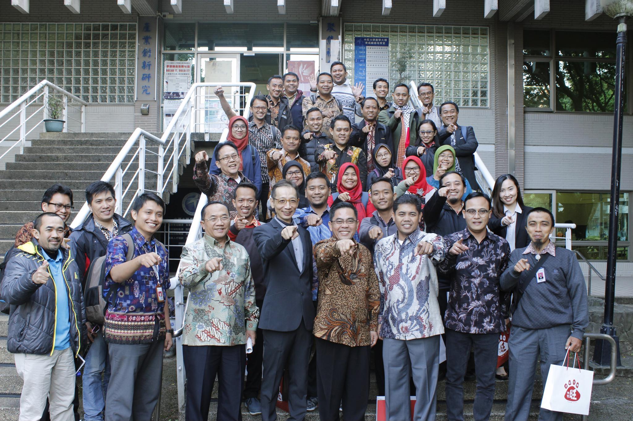 推動工業4.0 中原人才培育獲印尼工業部青睞