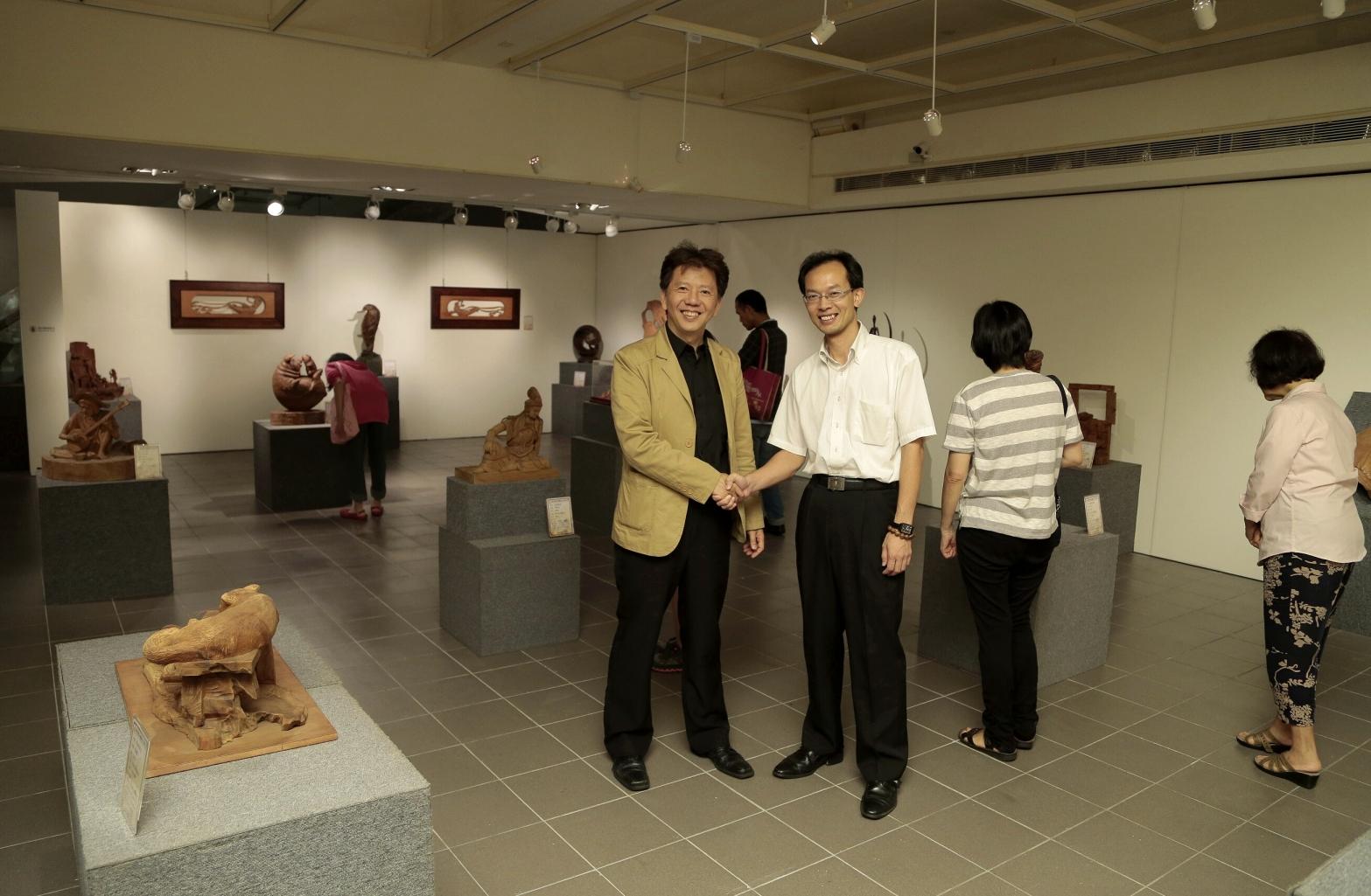 當代木雕之美 藝術中心展至7月4日