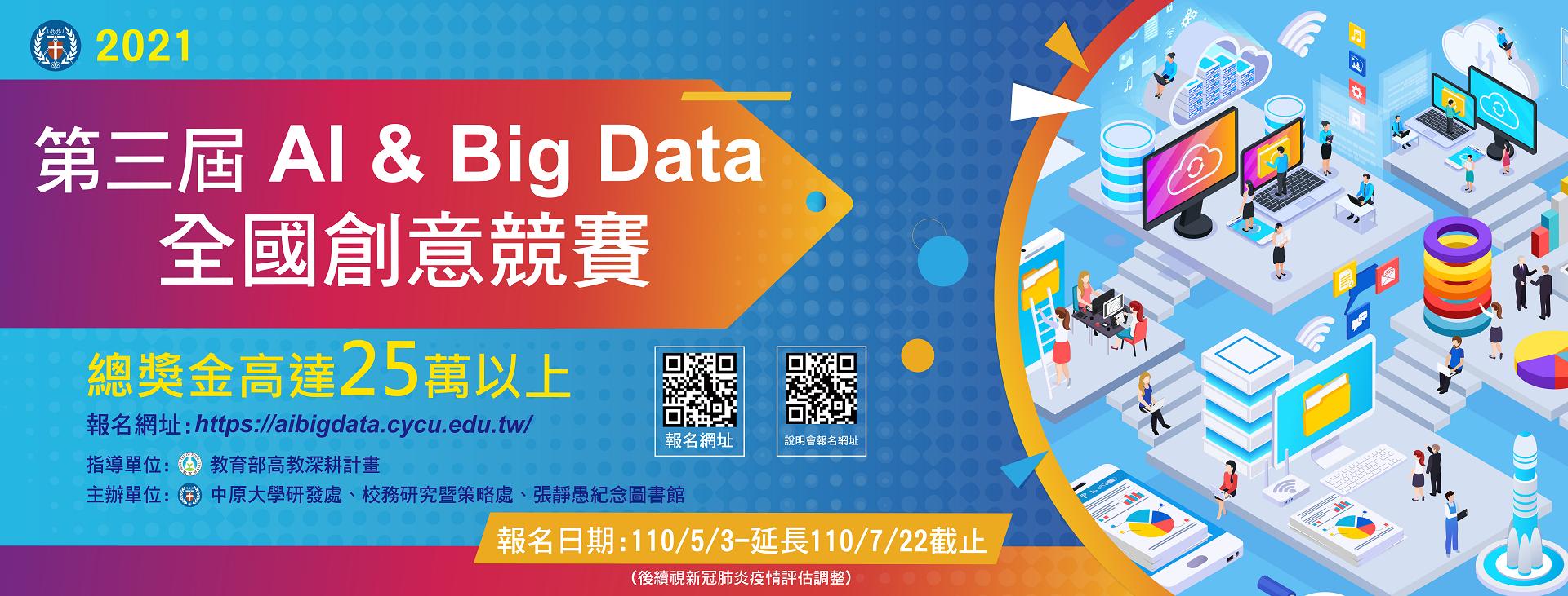 中原大學第三屆AI & Big Data創意競賽