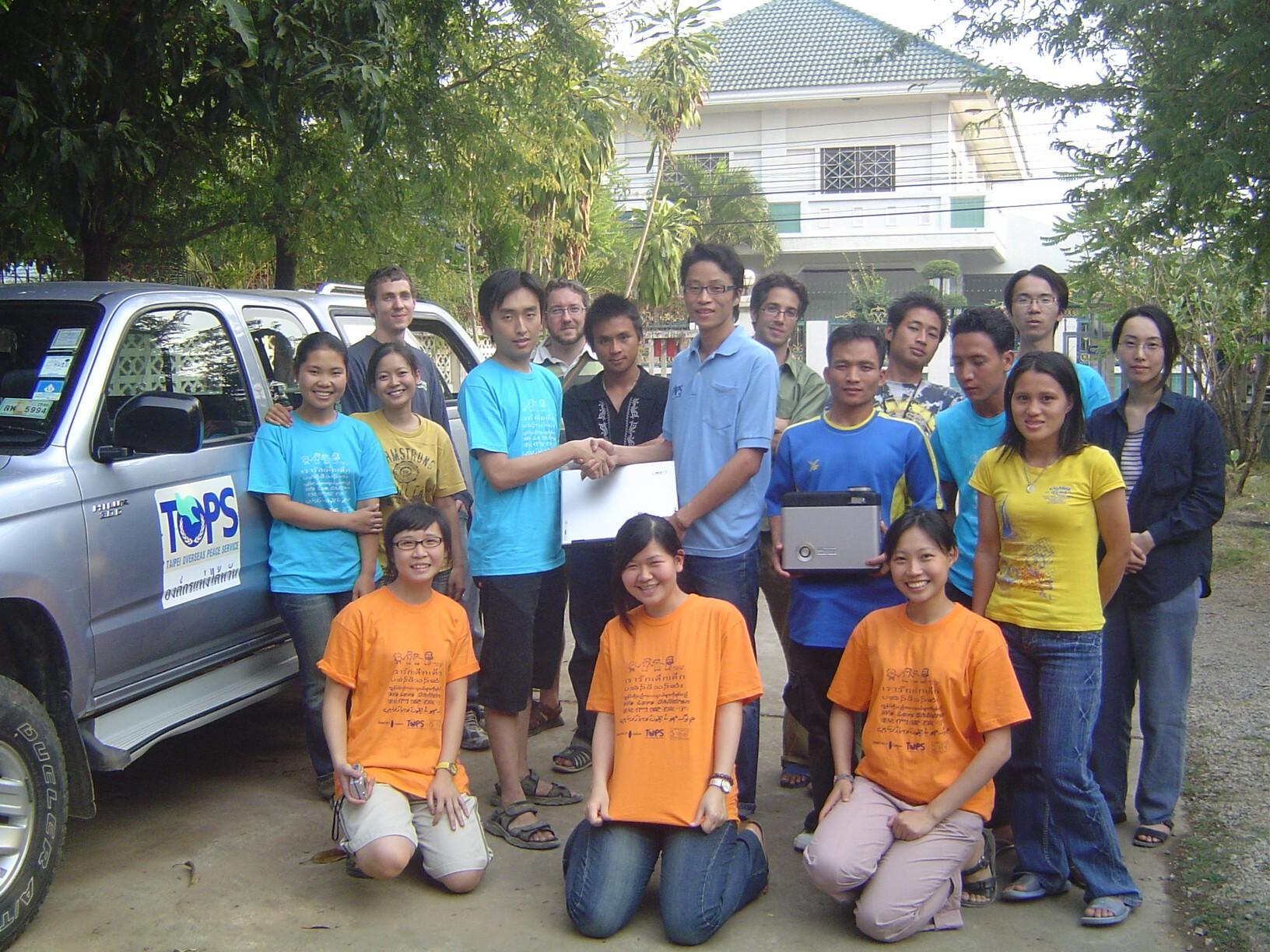 中原資管前進泰緬邊境推動邊境兒童資訊教育