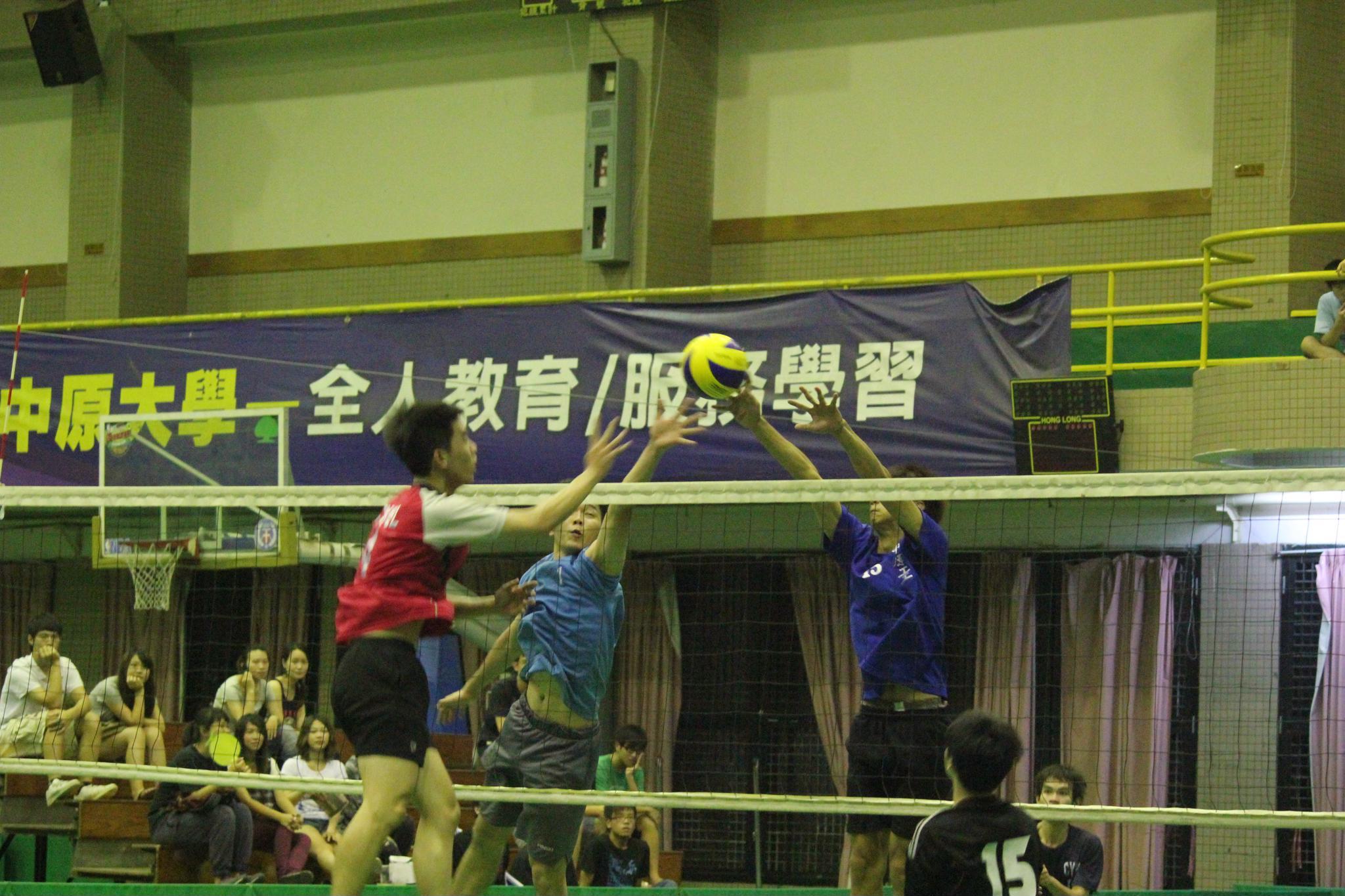 中原全人盃排球明星賽 排球高手拼球技