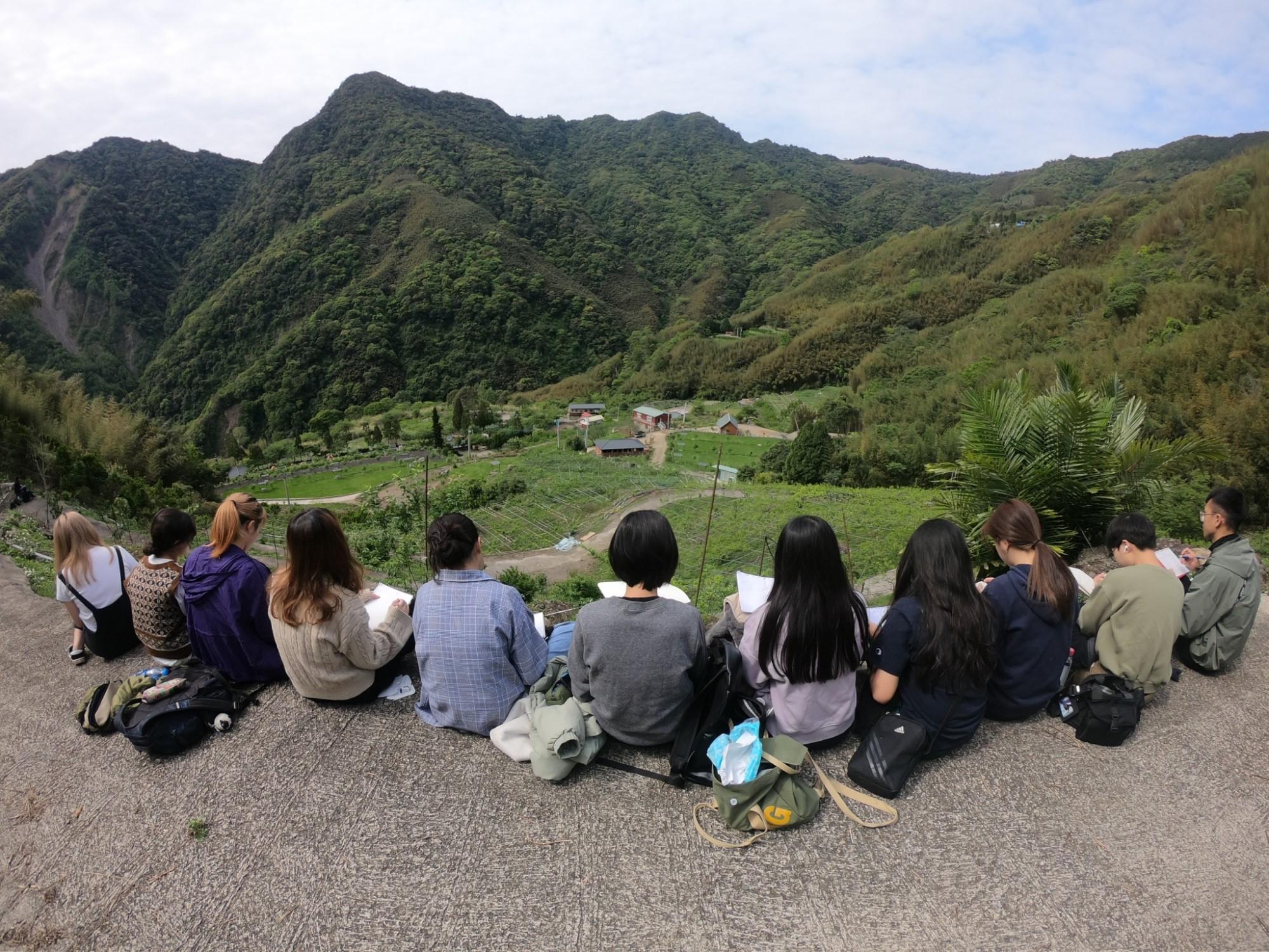 中原景觀學生走入地方體驗人文地景 儲備設計能量