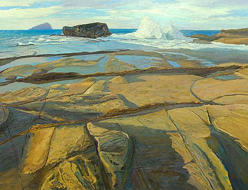 換喻的風景油畫展 以藝術親近自然