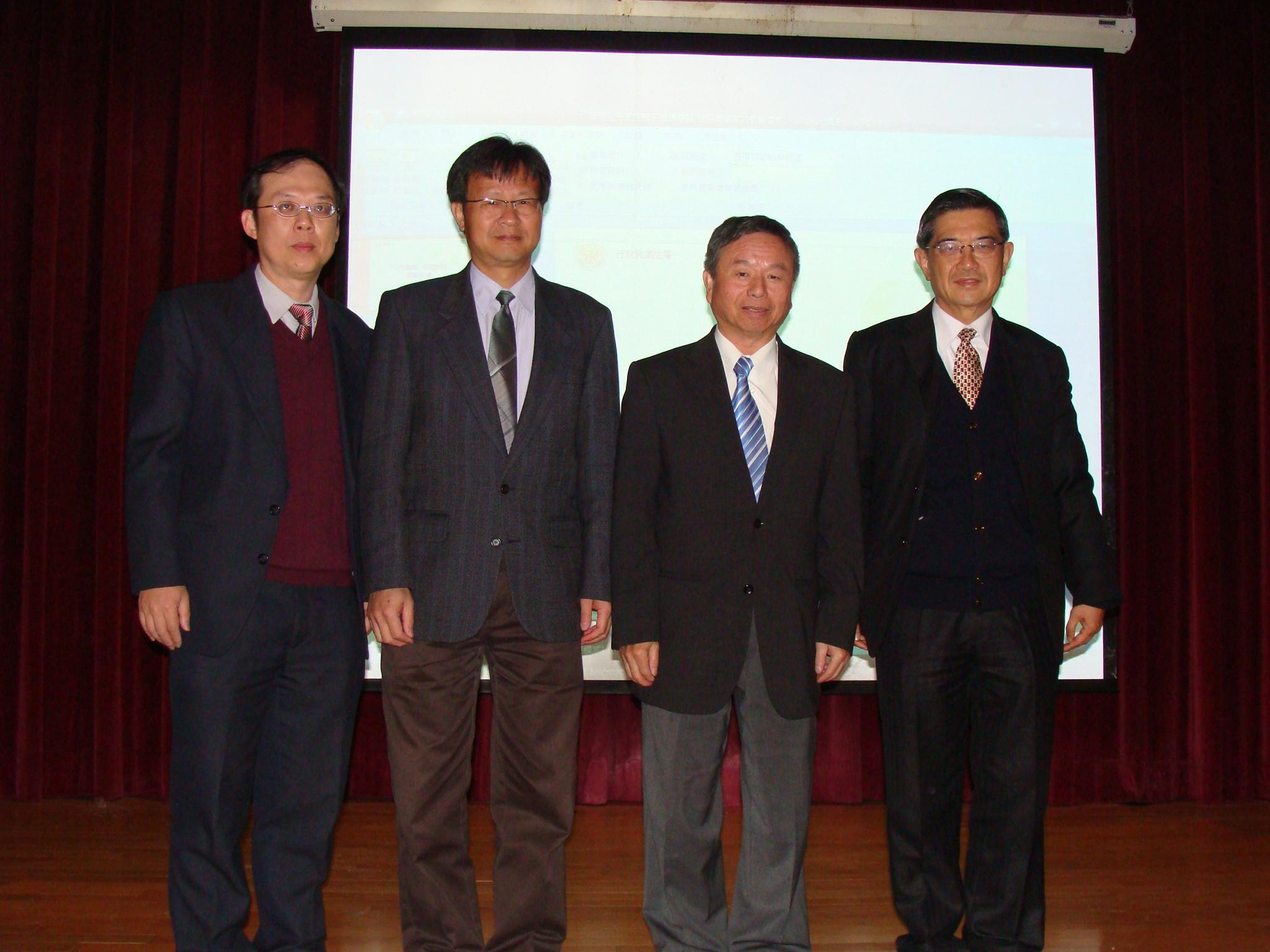 前衛生署長楊志良在中原大學開講 風靡全場