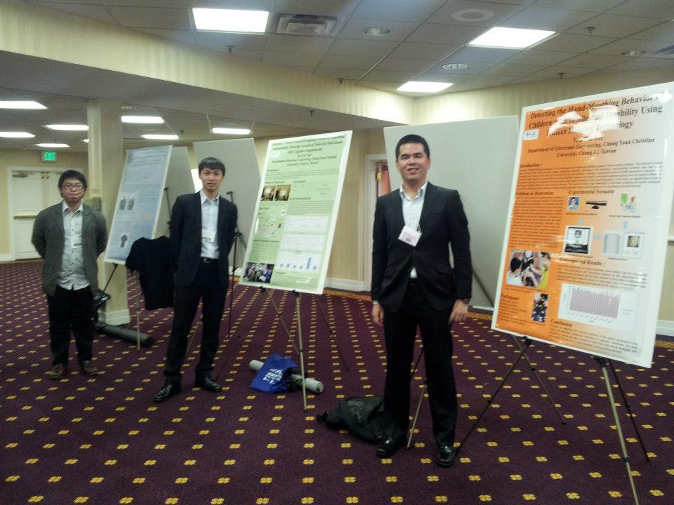 賀!電子系魏子崴同學榮獲ACM國際無障礙科技大賽世界第三名