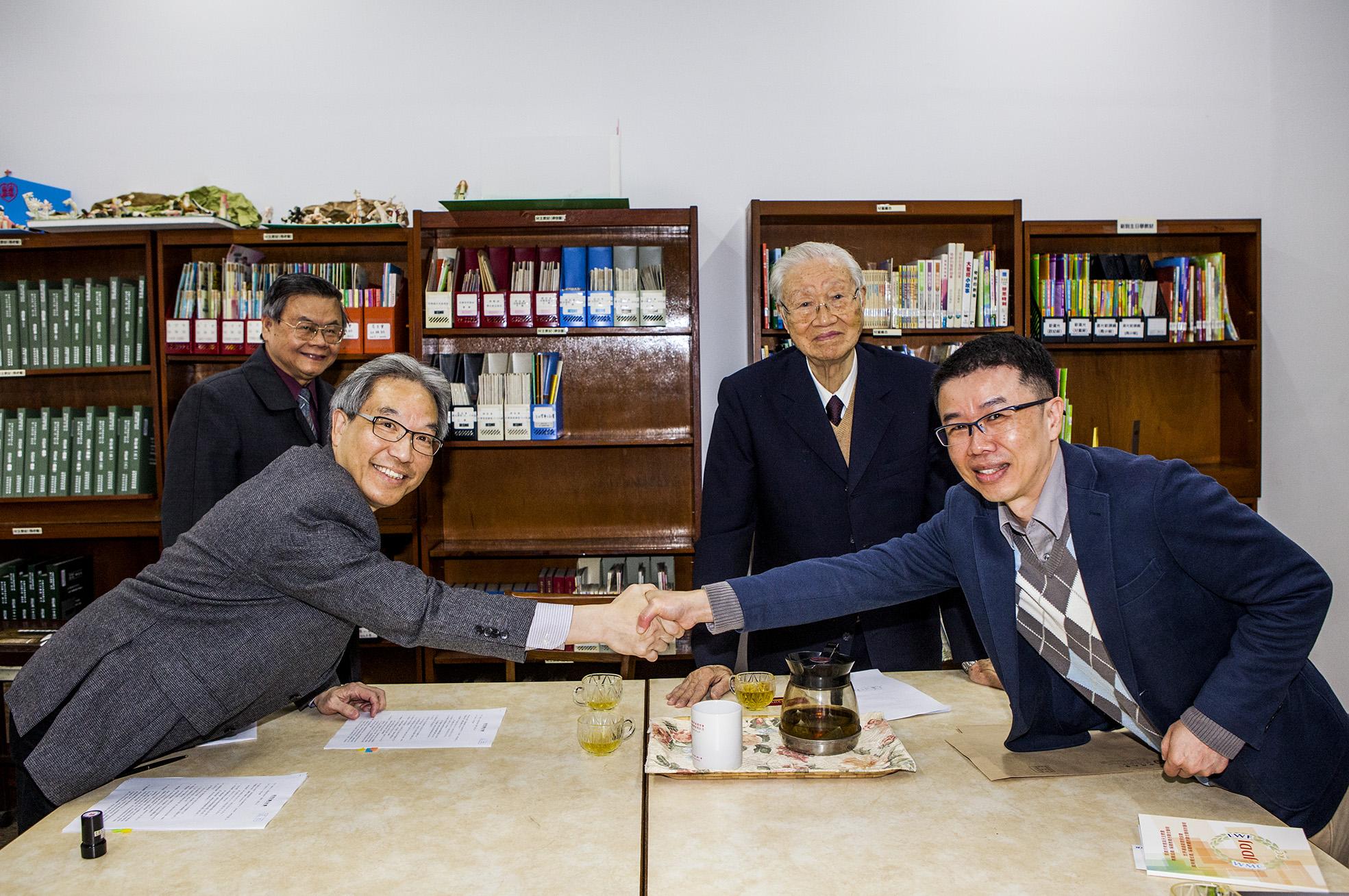 香港浸會出版社與中原合作 120年首見