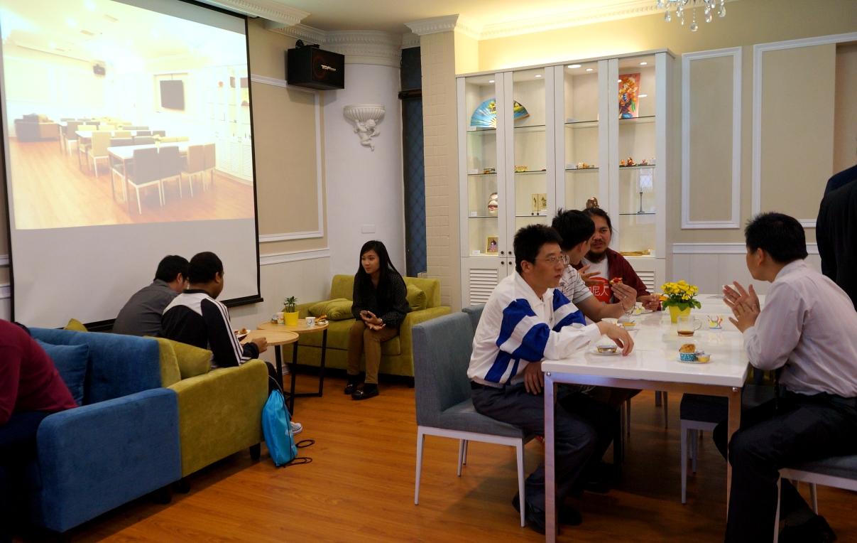 「全球交誼廳」落成啟用 建構國際化校園
