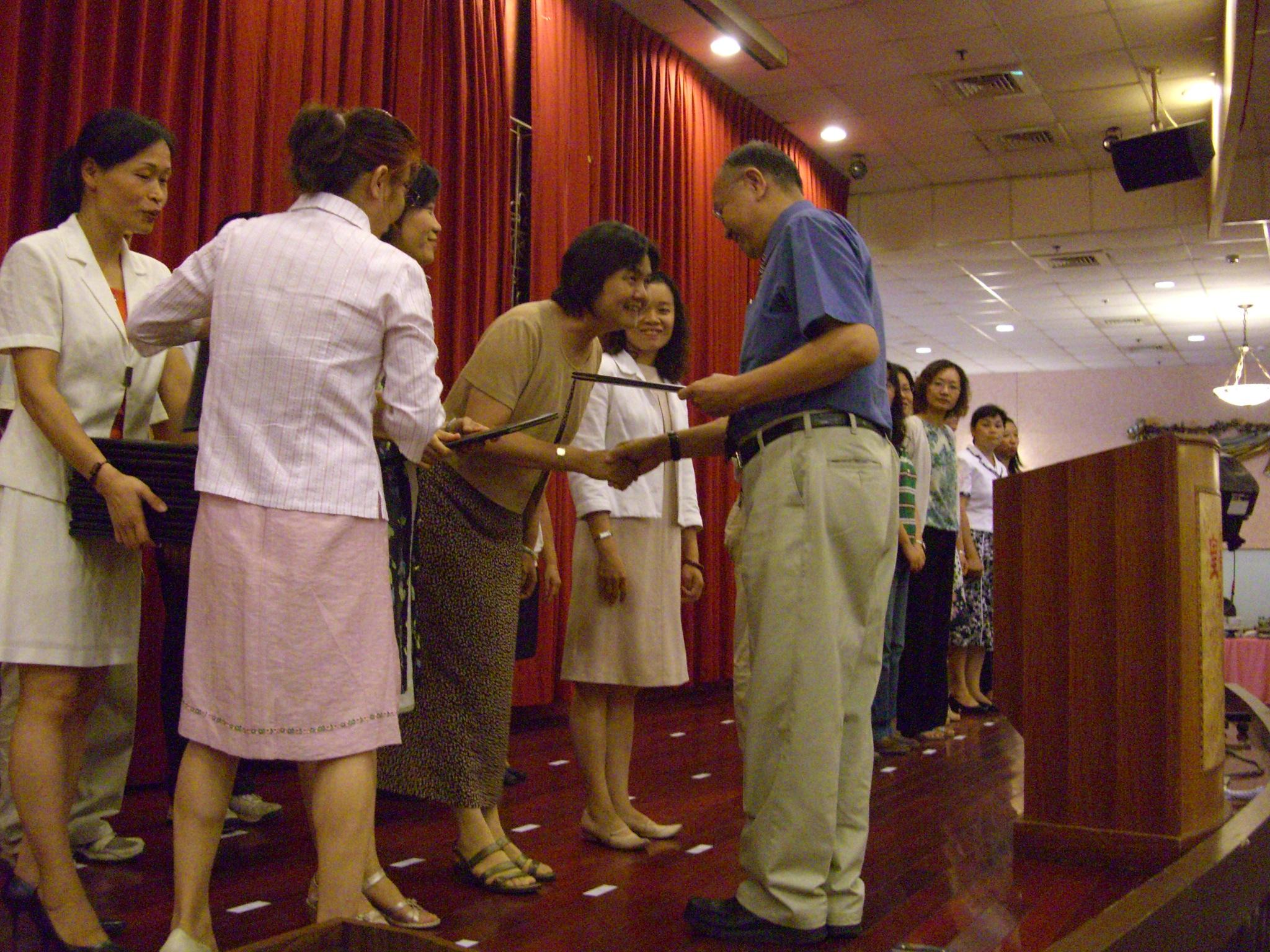 慶祝教師節 中原大學舉辦感恩餐會 五百餘位教職員工齊聚ㄧ堂