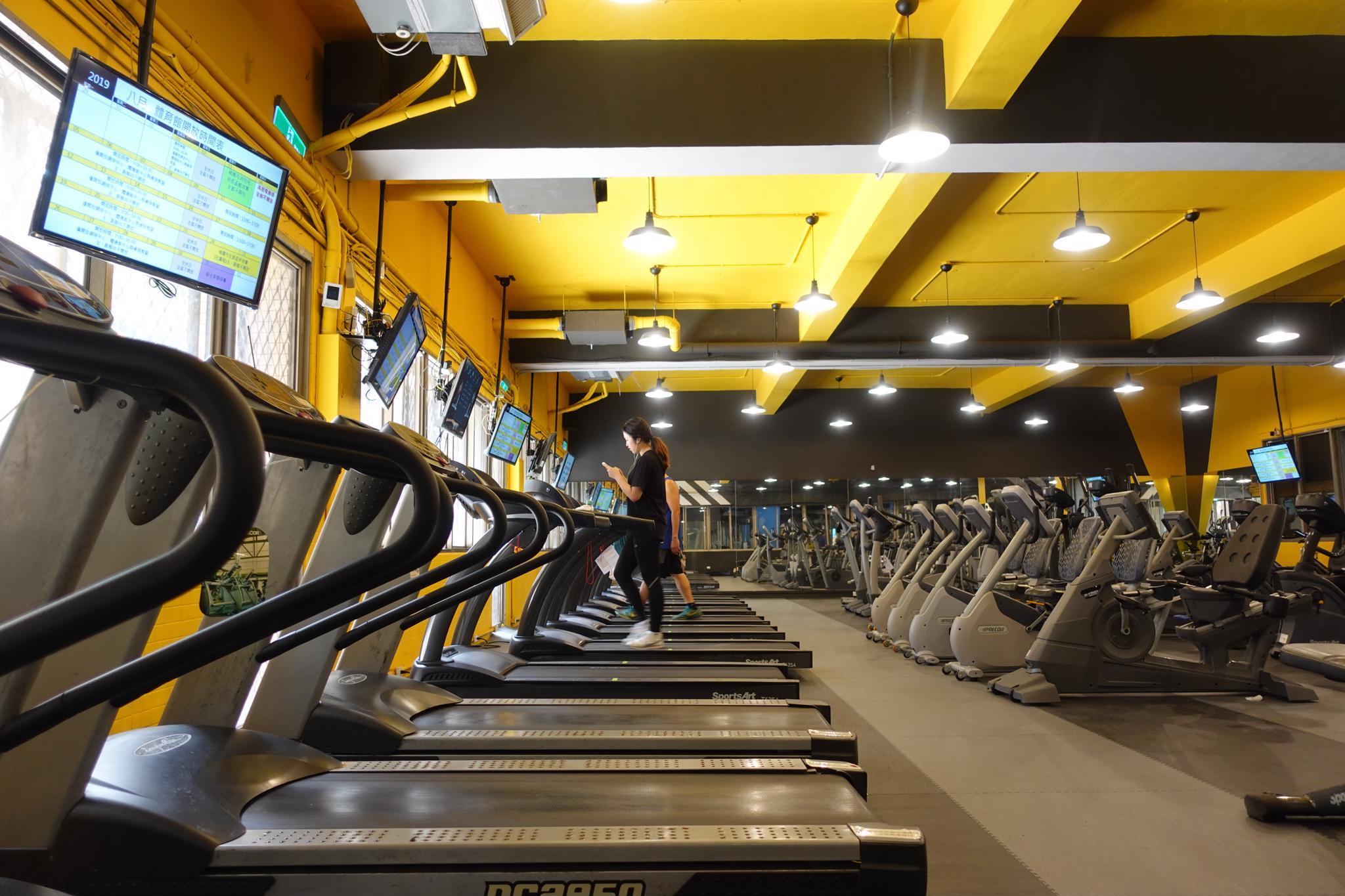中原大學重視健康 為學生打造五星健身房