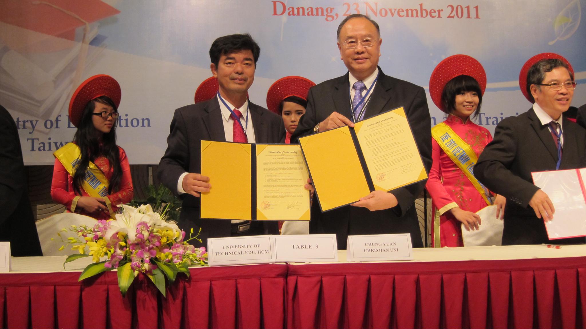 中原參與臺越高等教育論壇 提升兩國學術交流