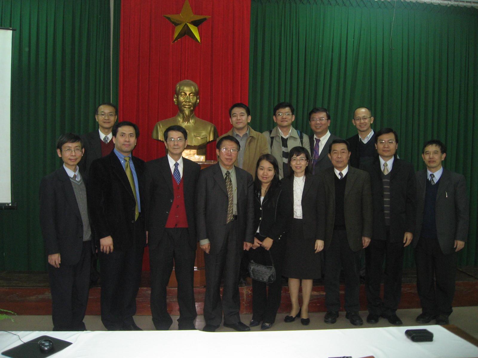 中原大學赴越南招生整合異質優勢 成功出擊