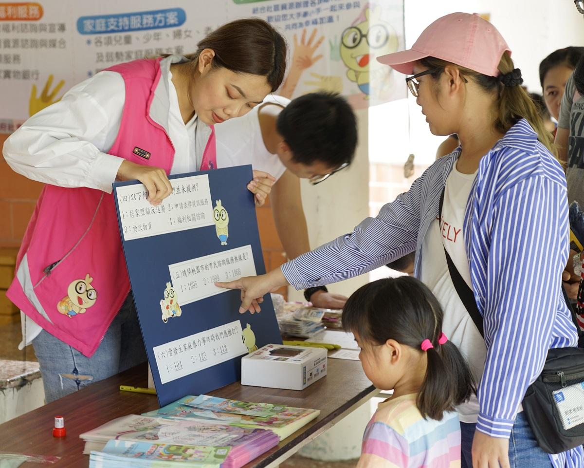 中原大學、桃園市政府舉辦DIY親子活動 與民眾共同守護慢飛天使