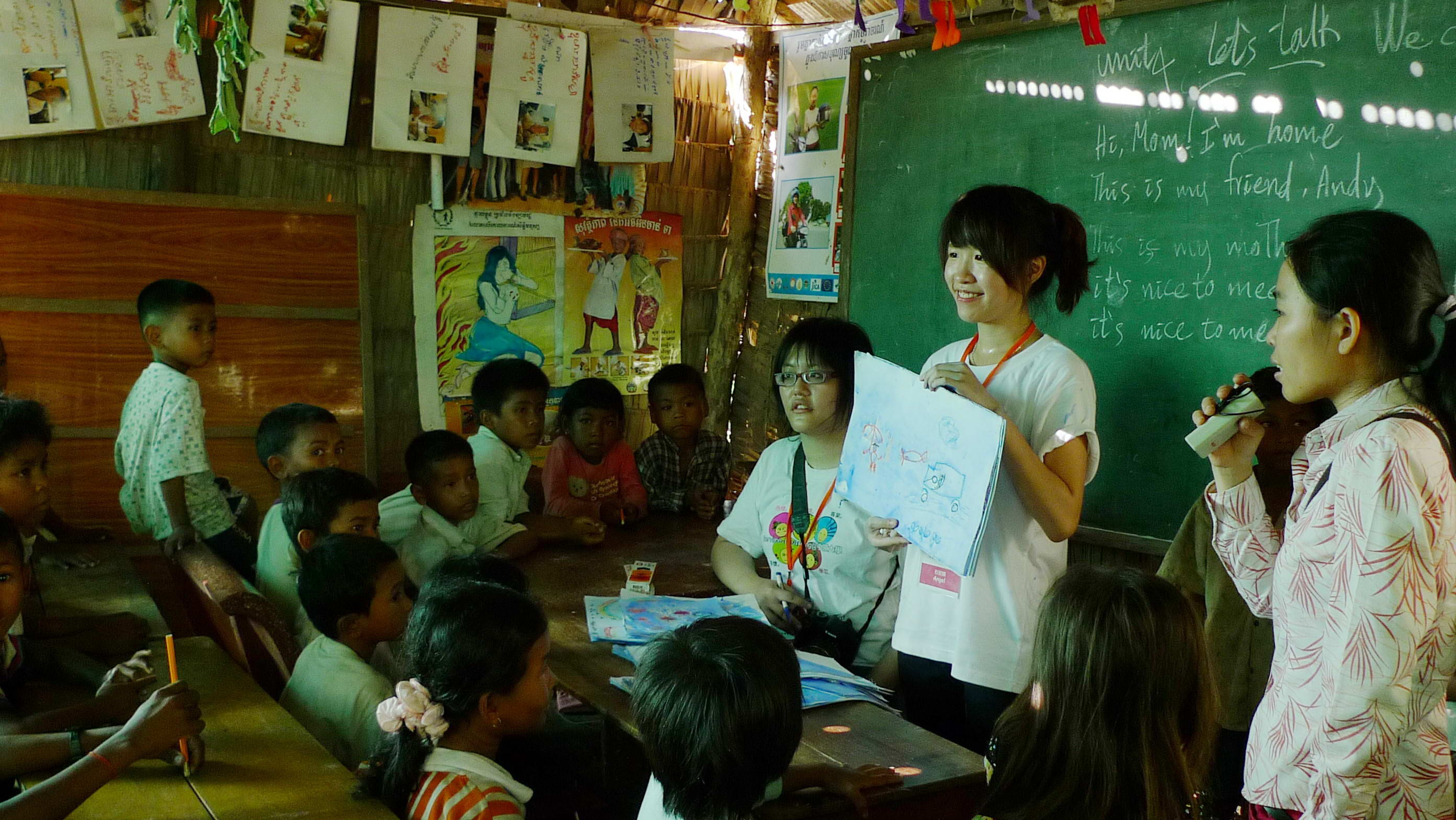 中原團隊再度前進柬埔寨 散播希望 散播愛