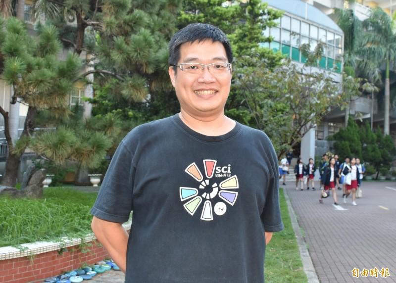 《自由時報》他棄高薪40歲拾教鞭 獲SUPER教師獎評審團特別獎