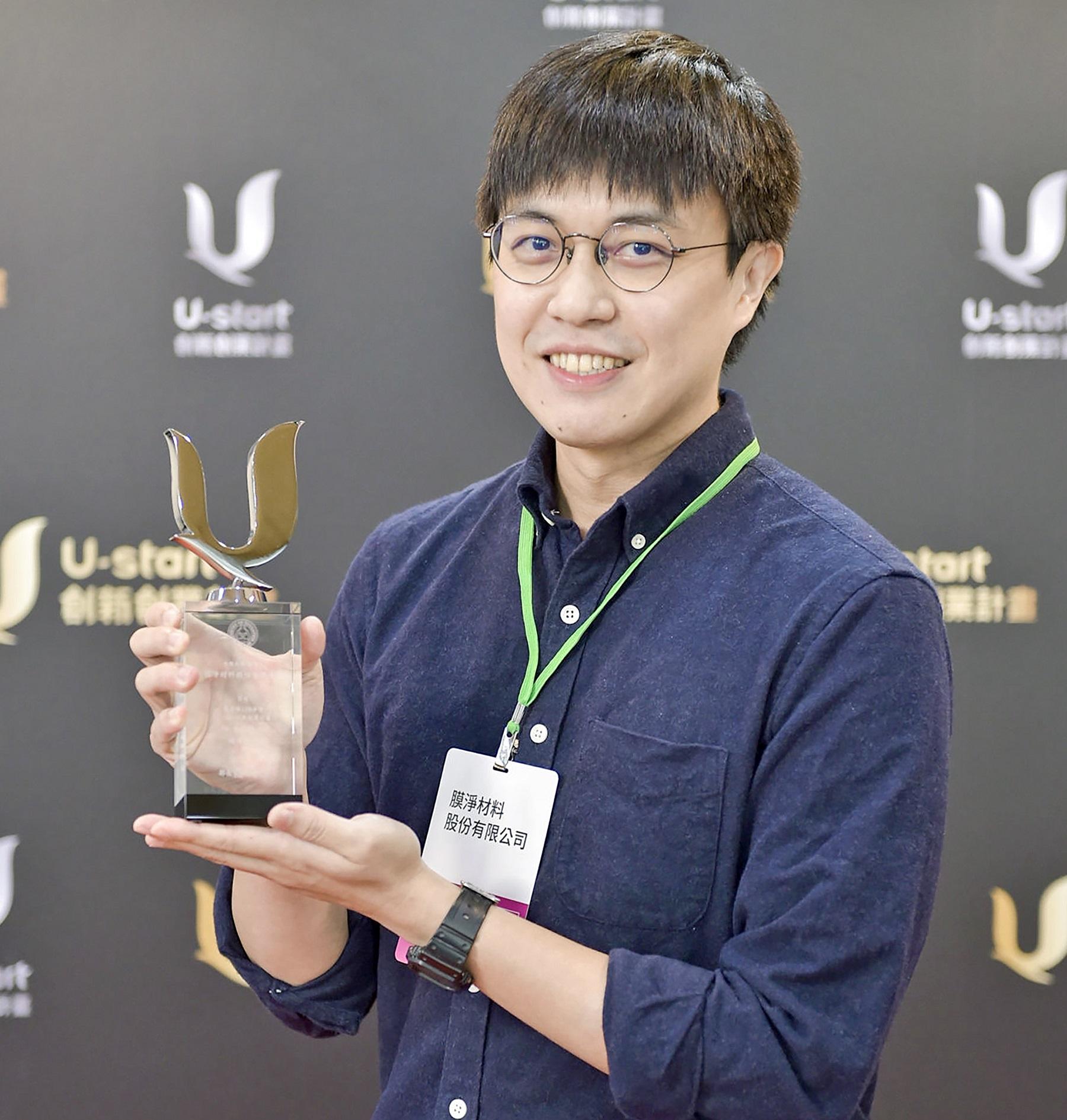 研發最強薄膜過濾技術  化學系校友陳柏瑜  打造可生飲的除菌純淨水