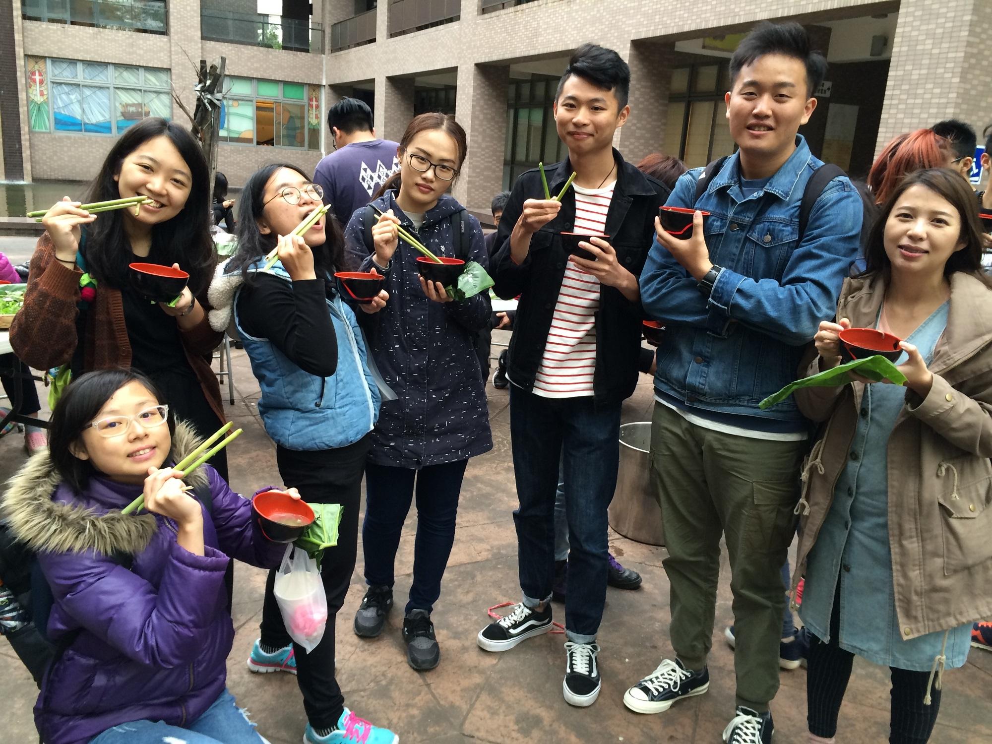 中原大學用美食 傳承學習原住民文化