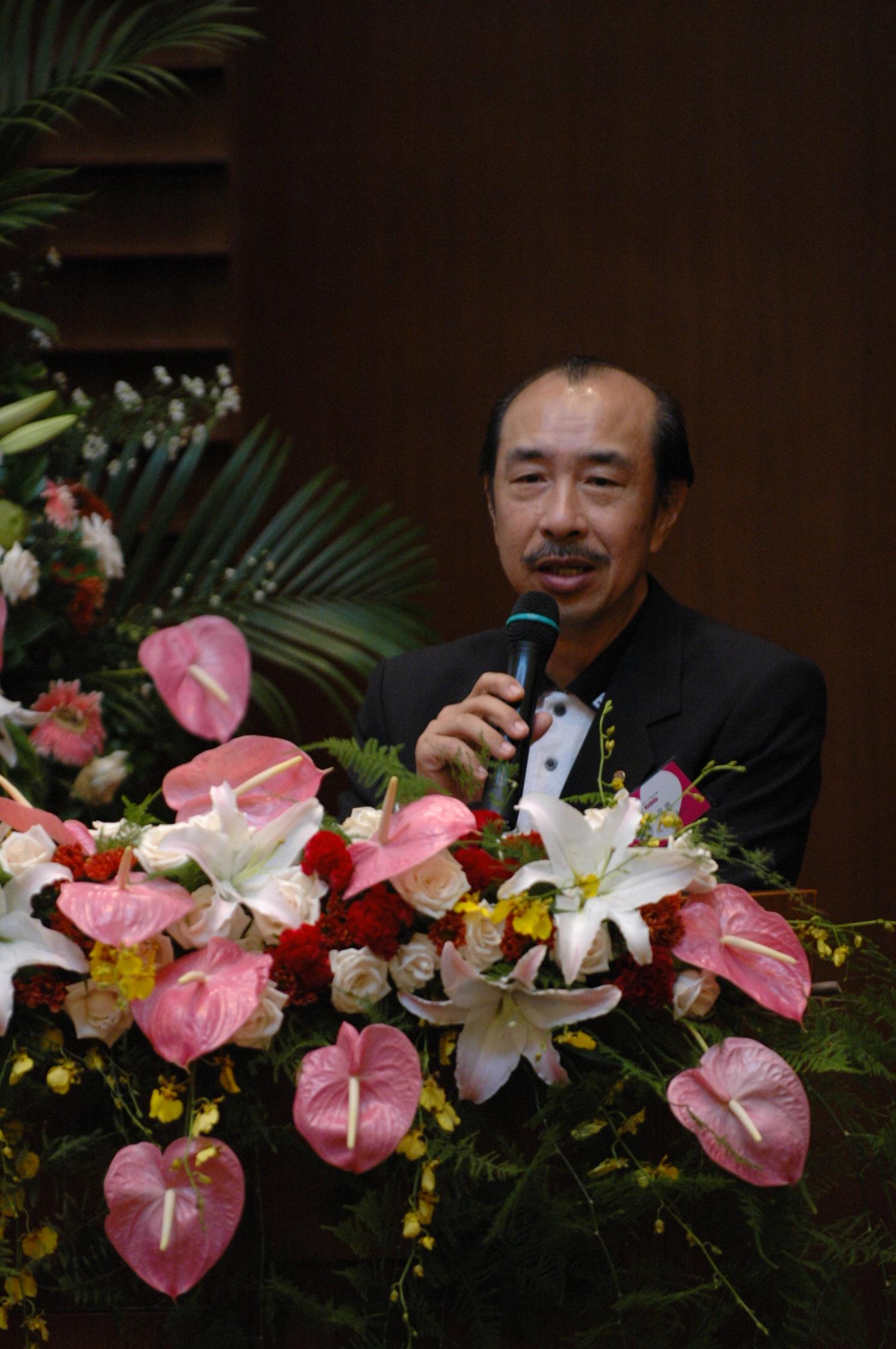 林俊興校友專題演講 氣候異變下的台灣