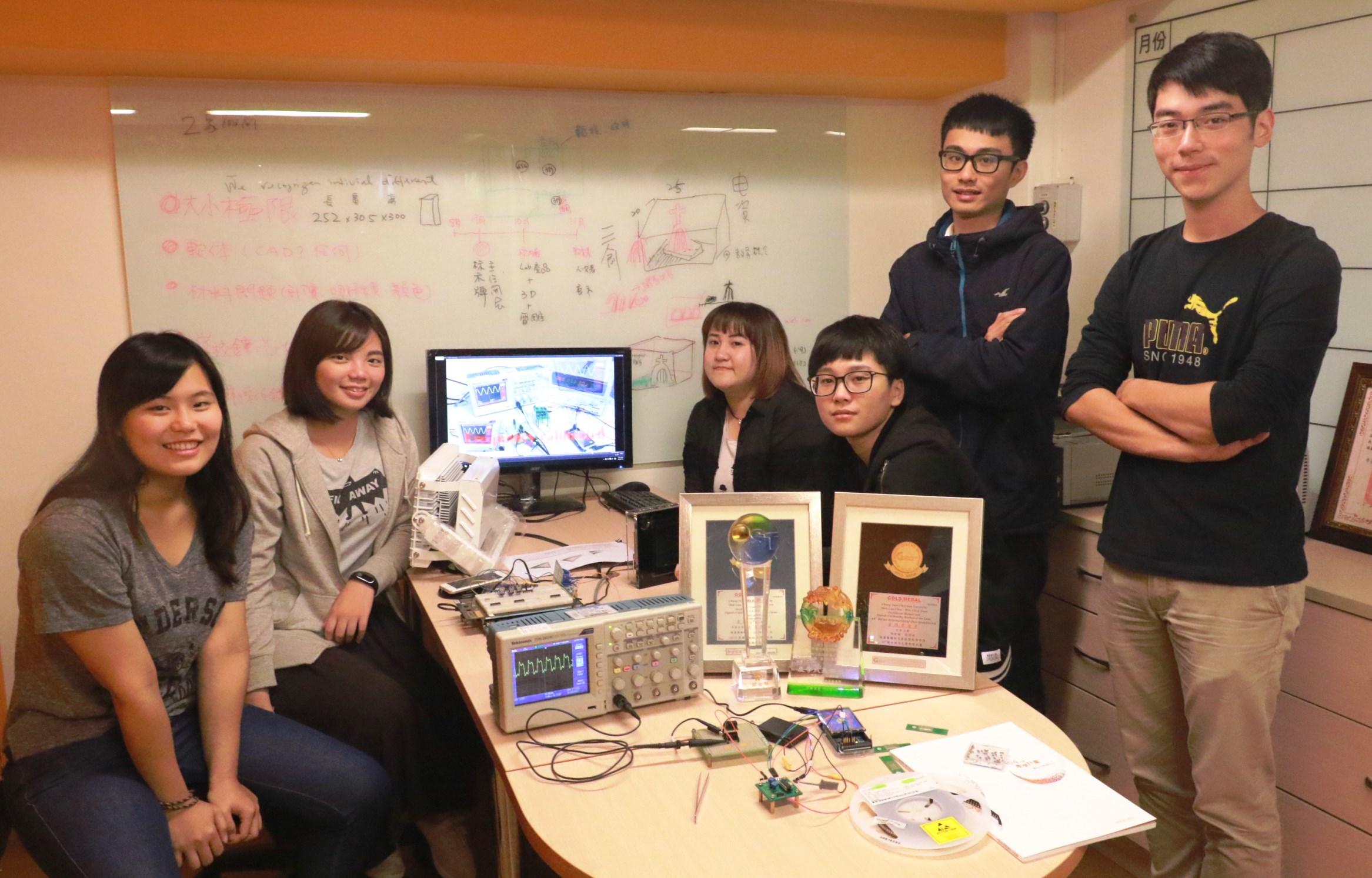 中原大學打造學生實作能力 展現智慧科技新產品